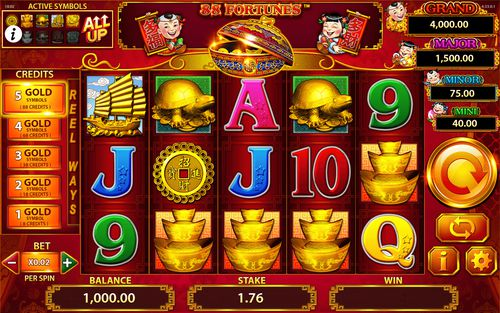 88 Fortunes free play