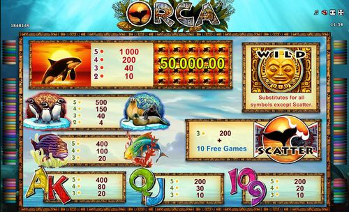 The Orca  free play