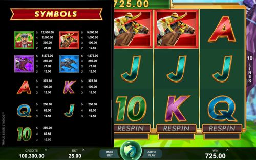 Bookie Of Odds free play