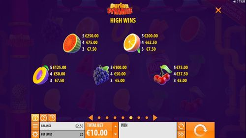 Durian Dynamite free play