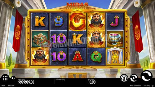 Midas Golden Touch free play