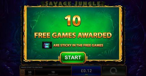Savage Jungle free play