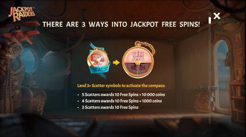 Jackpot Raiders  free play
