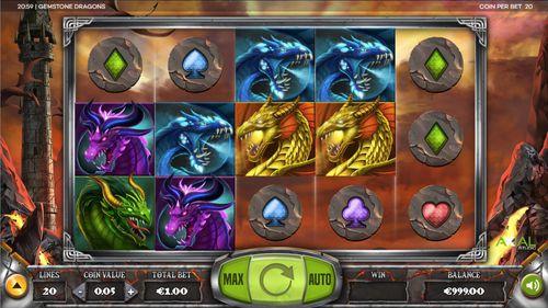 Gemstone Dragons free play