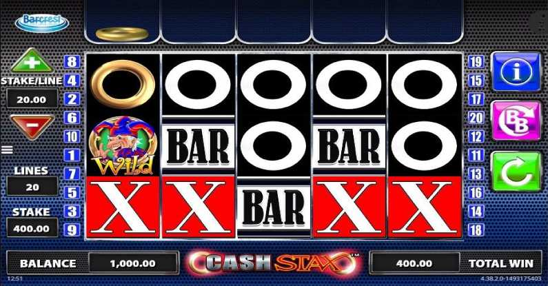 Cash Stax Slot Review