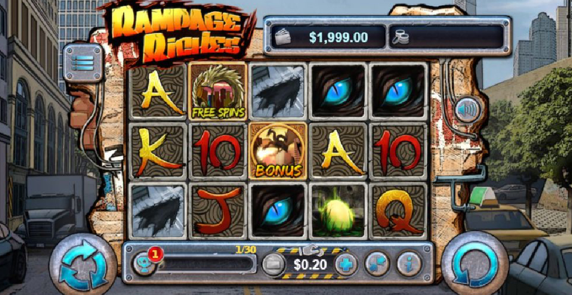Rampage Riches Slot Review