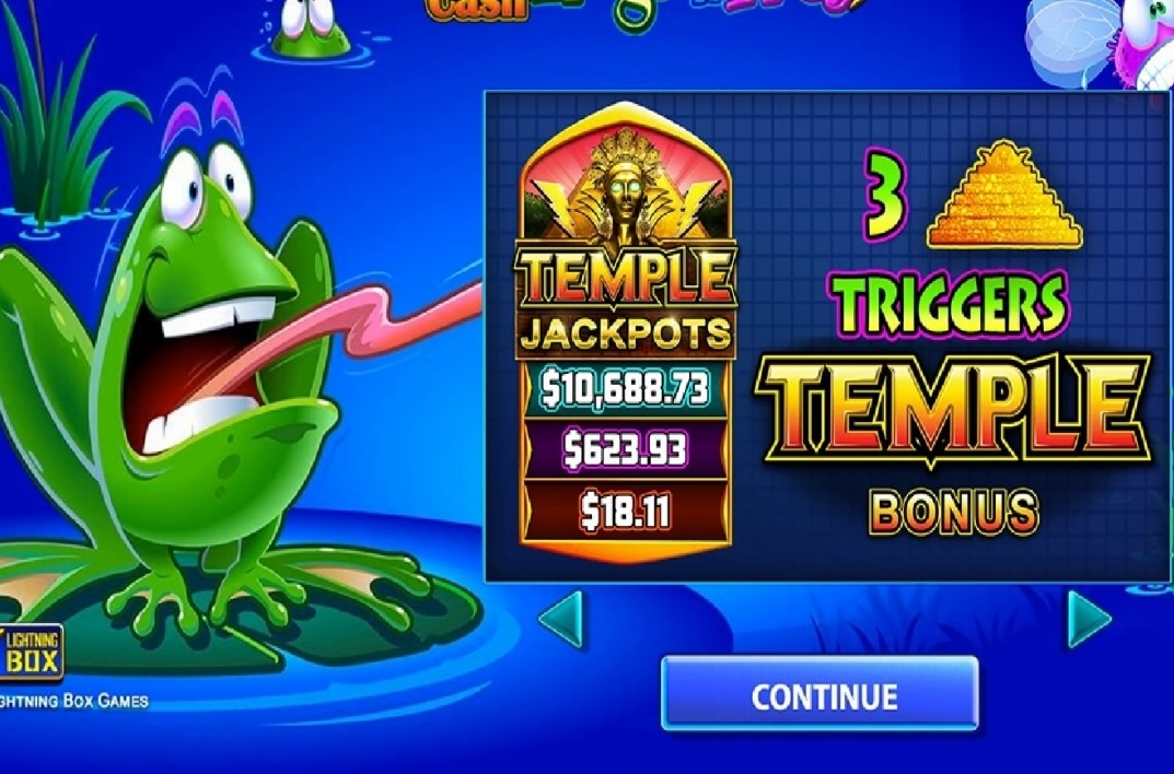 Frogs N Flies: Temple Cash Slots