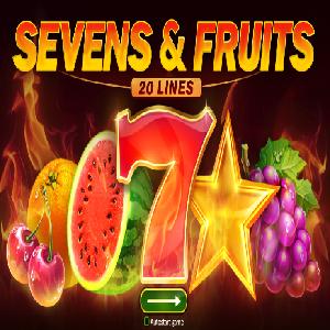 Sevens & Fruits: 20 Lines