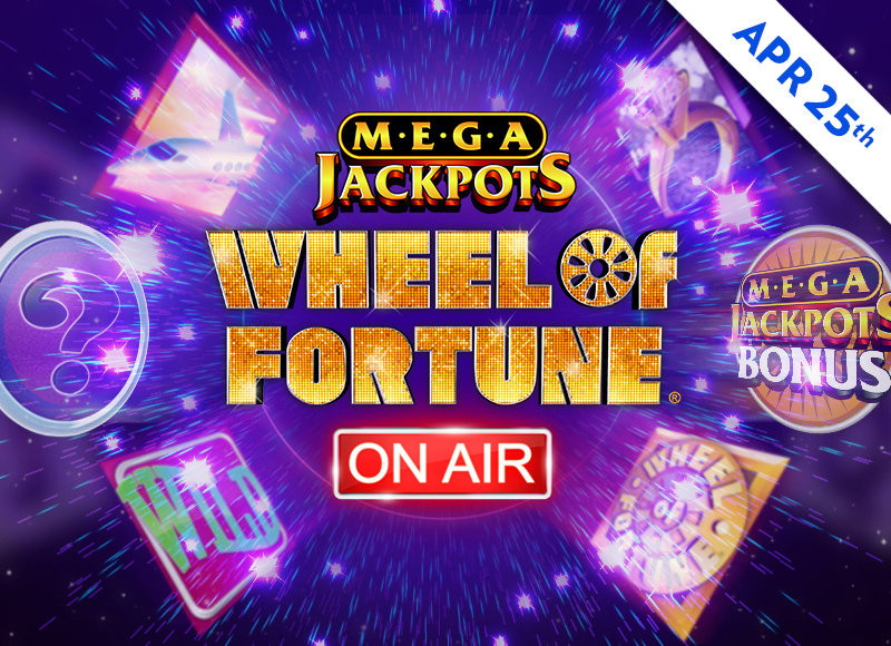 Mega Jackpots: Wheel Of Fortune On Air