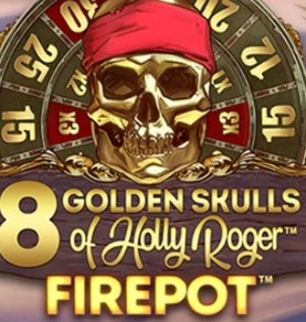8 Golden Skulls of Holly Roger Megaways