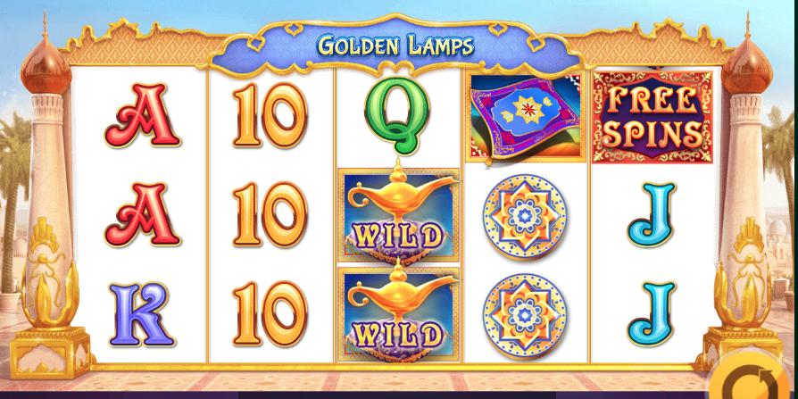 Golden Lamps demo