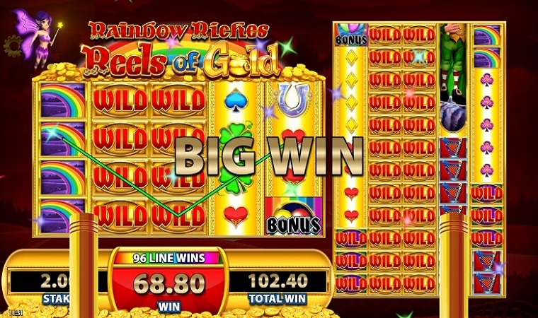 Rainbow Riches Reels of Gold demo