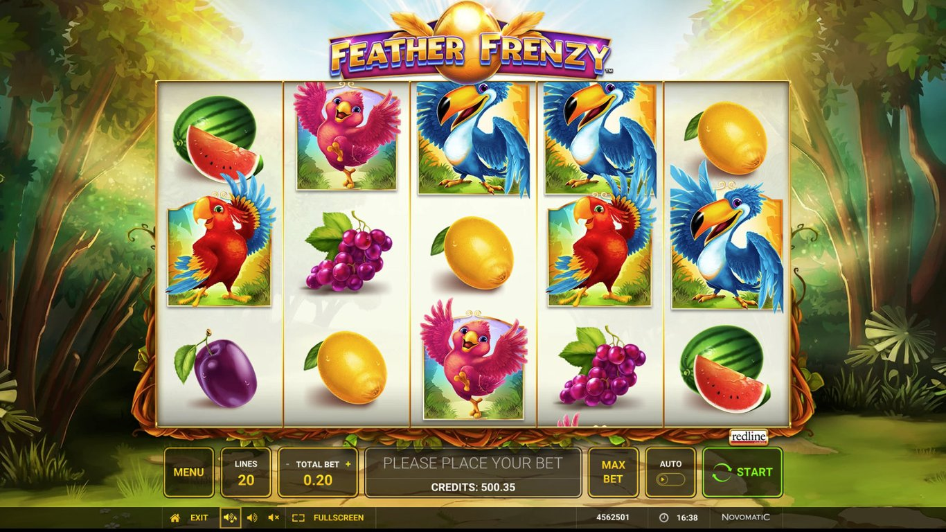 Feather Frenzy demo