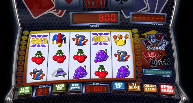 Slot 21  demo