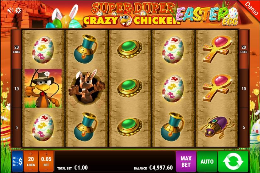 Super Duper Crazy Chicken Easter Egg demo