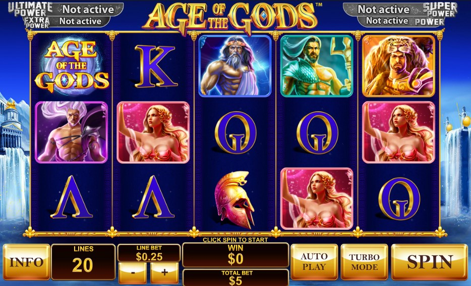 Age of the Gods demo