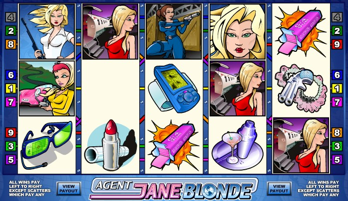 Agent Jane Blonde demo