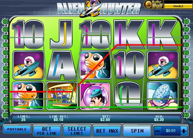 Spiele Alien Hunter - Video Slots Online