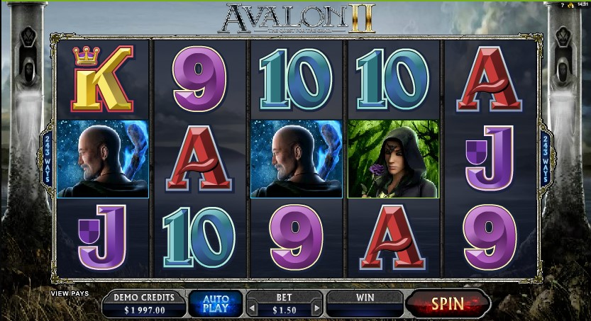 Avalon II Quest For The Grails demo