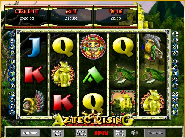 Spiele Aztec Rising - Video Slots Online