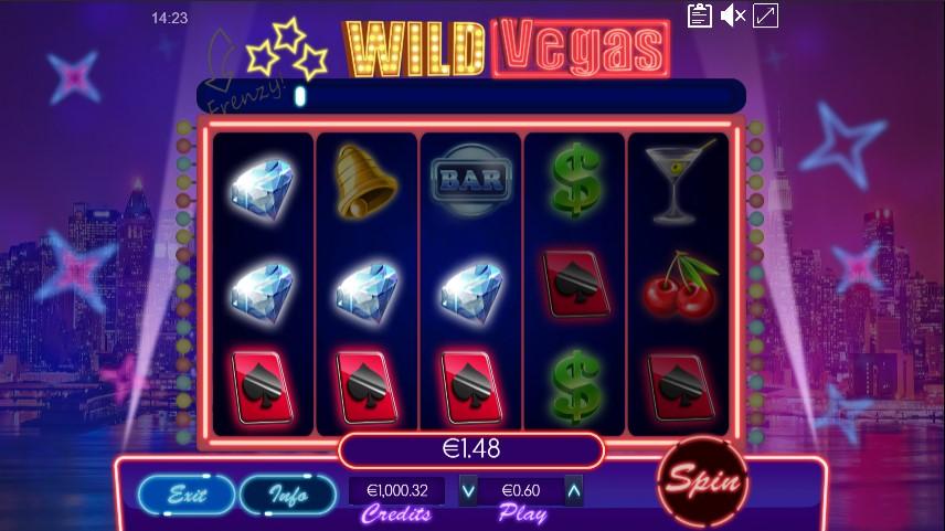 Wild Vegas Instant Play