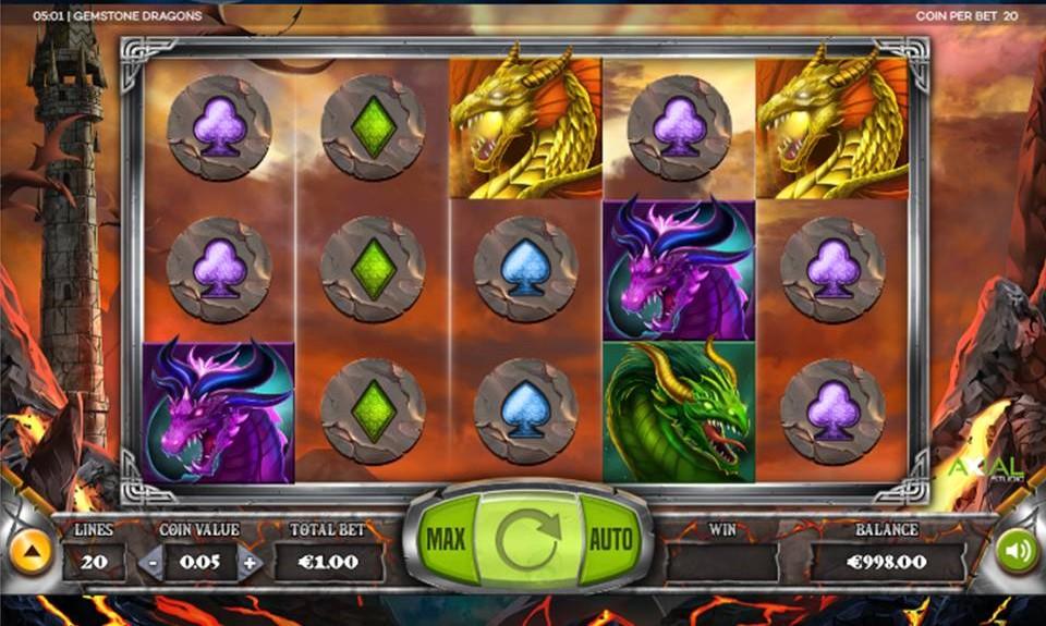 Gemstone Dragons demo