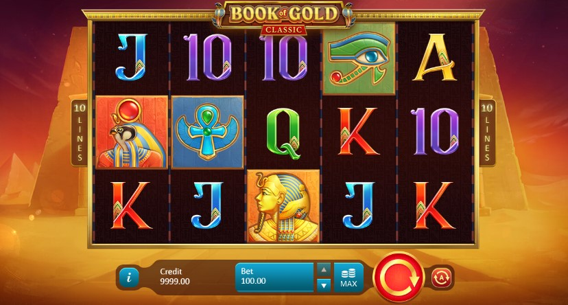 Book of Gold Classic demo