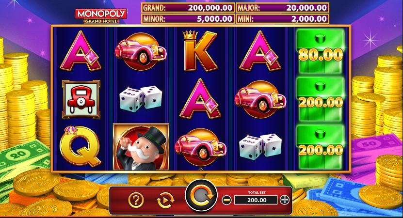 Monopoly Grand Hotel demo