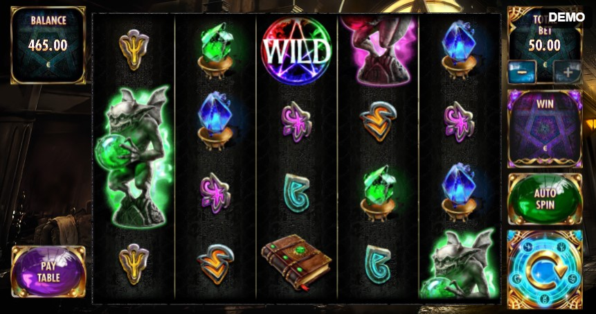 Magic Wilds demo