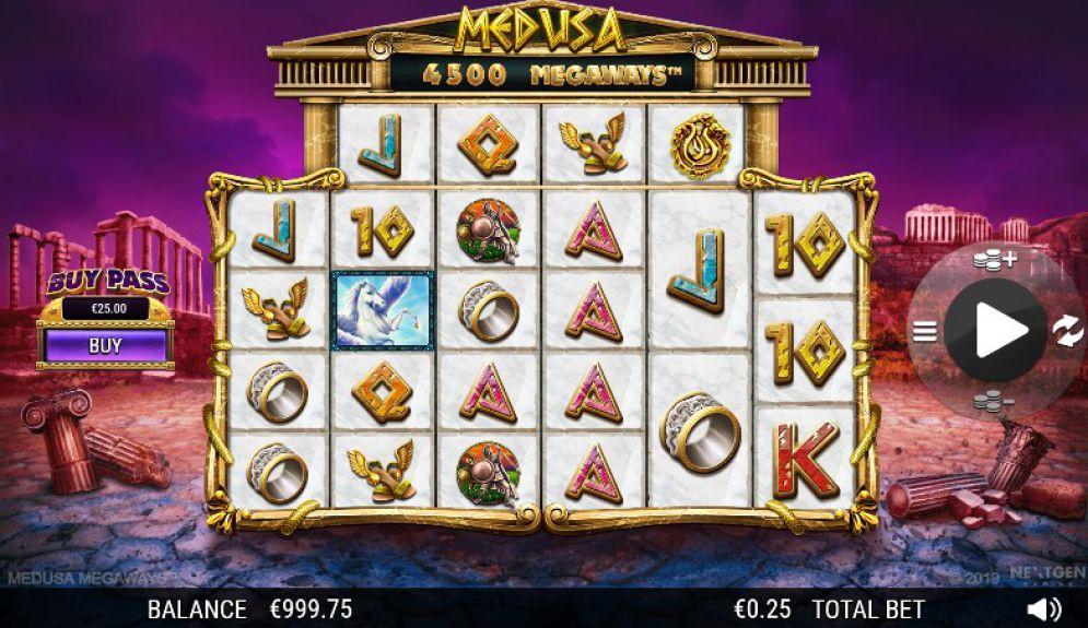 Medusa MegaWays demo