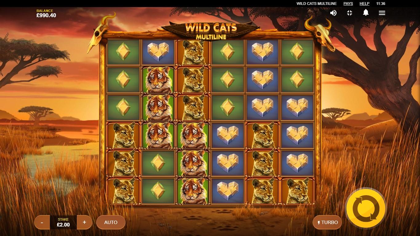 Wild Cats Multiline demo