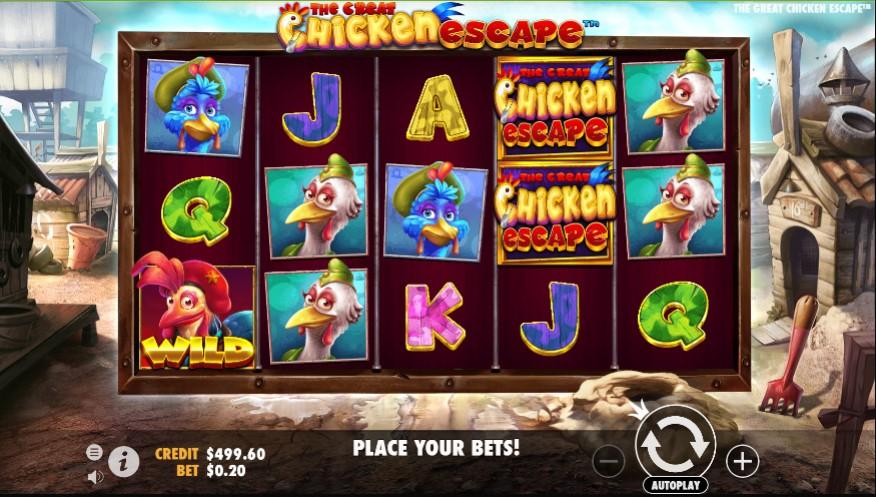 The Great Chicken Escape demo