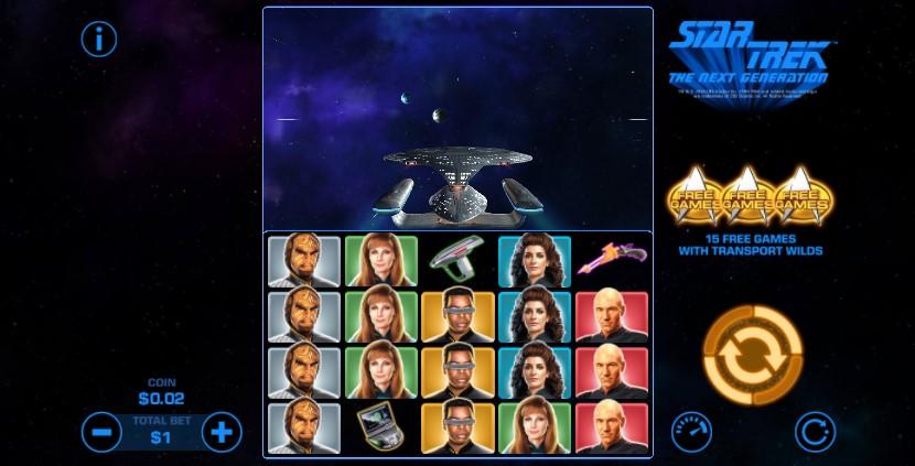 Star Trek: The Next Generation  demo