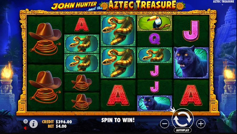 John Hunter and the Aztec Treasure demo
