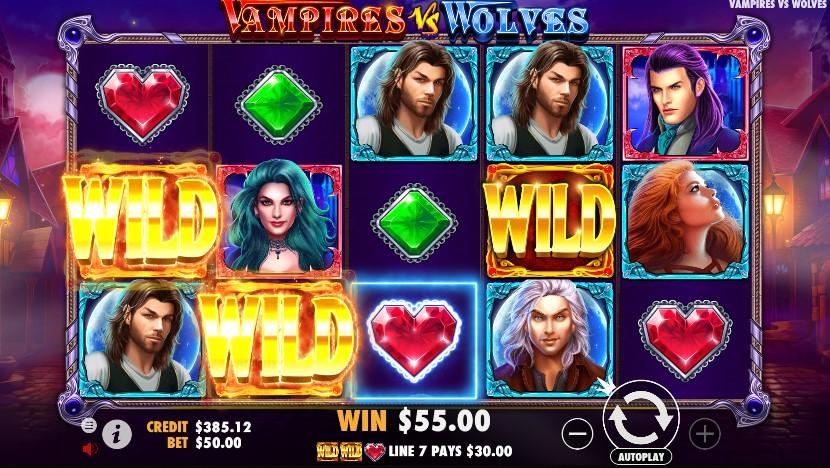 Vampires vs Wolves demo