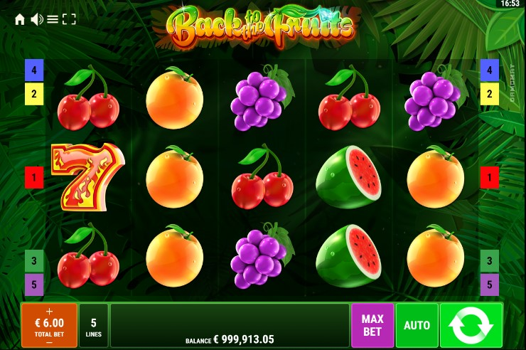 Back to the Fruits demo
