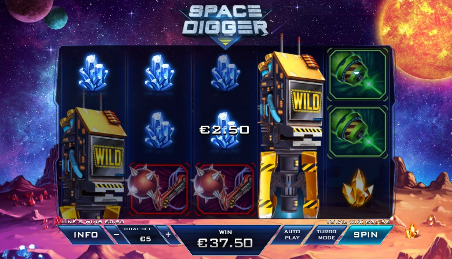 Spiele Space Digger - Video Slots Online