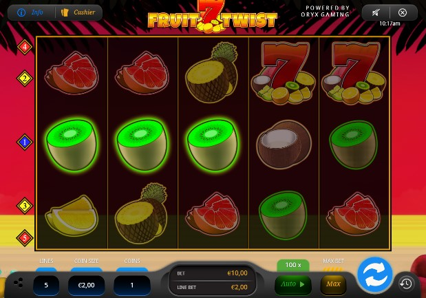 Fruit Twist  demo
