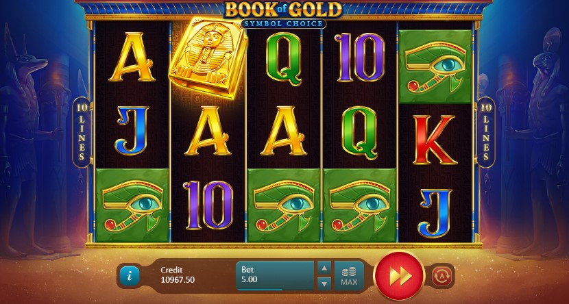Book of Gold: Symbol Choice demo