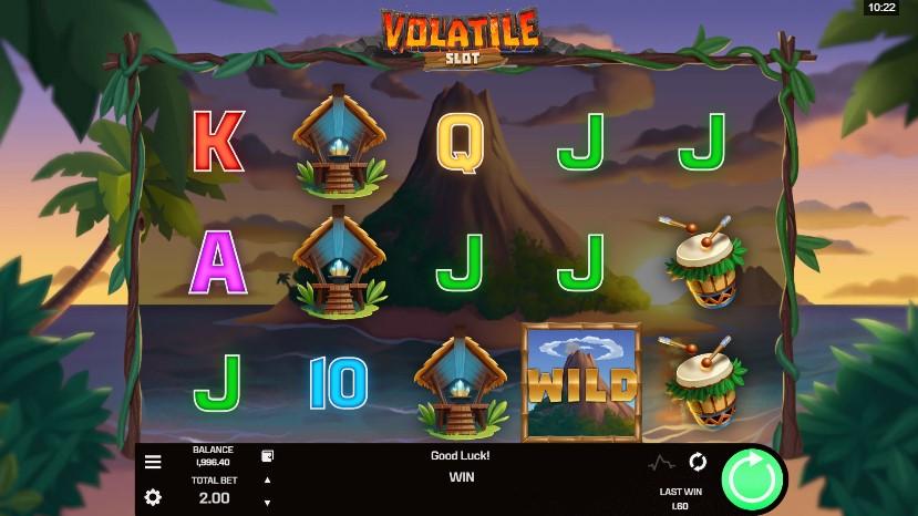 Volatile Slot demo