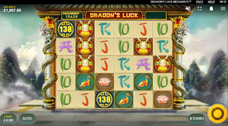 Dragons Luck Megaways demo