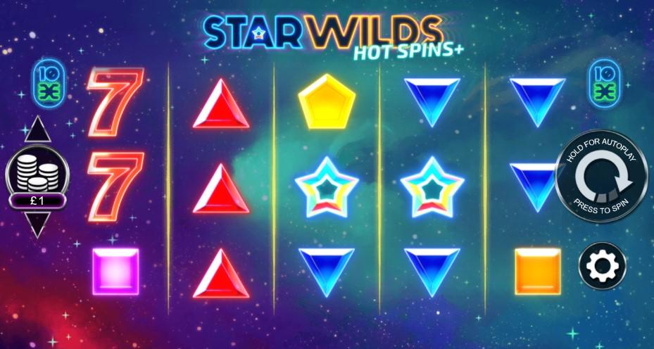 Star Wilds Hot Spins Plus demo