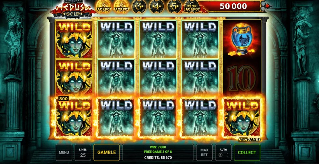 Myth of Medusa Gold demo