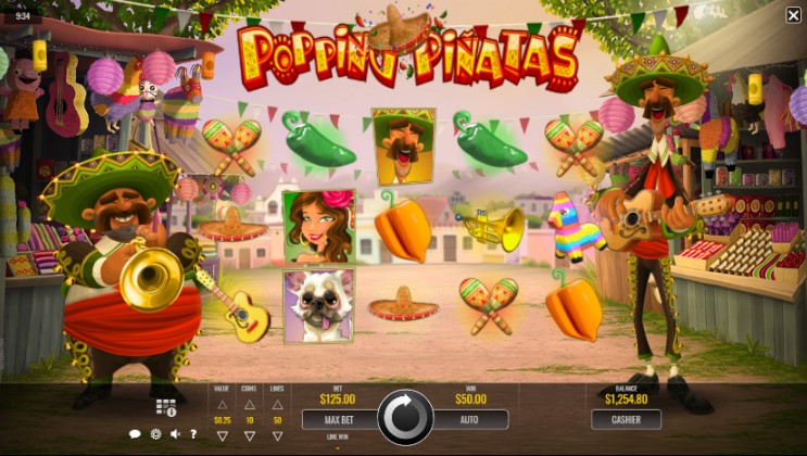 Popping Pinatas demo