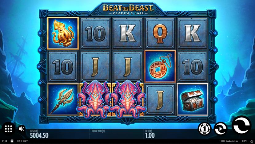Beat The Beast: Krakens Lair demo