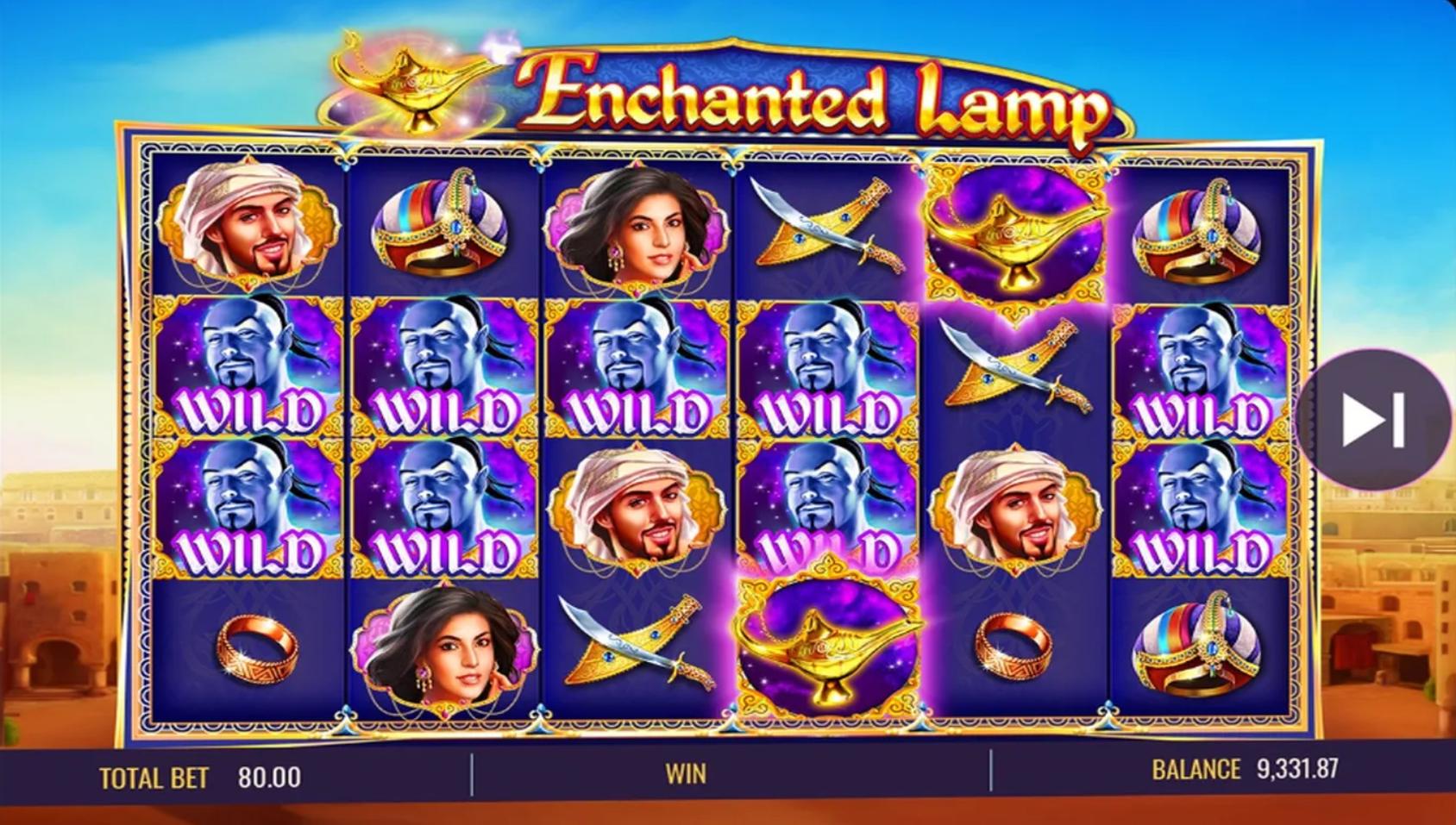 Enchanted Lamp demo
