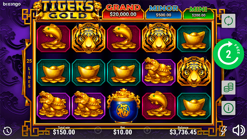 Tiger's Gold: Hold and Win demo