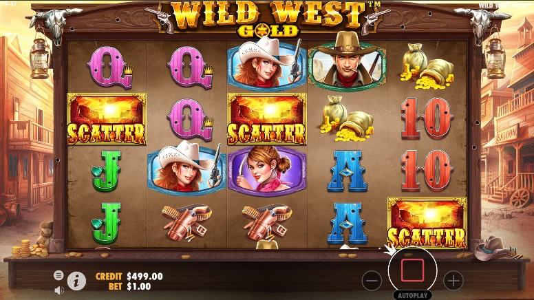 Wild West Gold  demo
