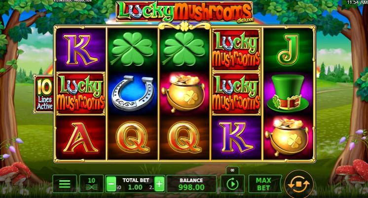 Lucky Mushrooms Deluxe demo