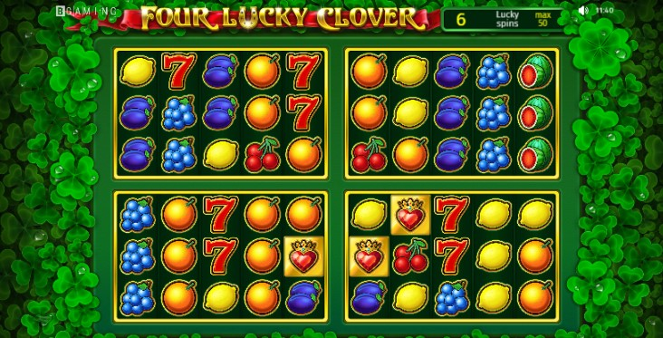 Four Lucky Clover  demo